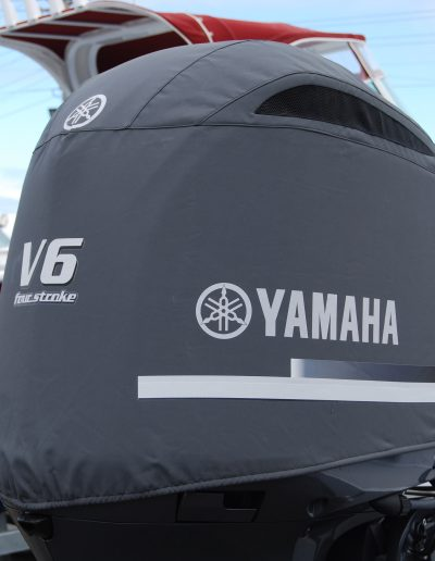 Yamaha 4.2l V6 vented outboard cover